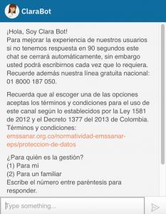 Clara bot